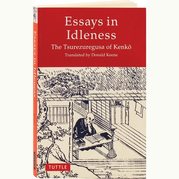 Kenko essays on idleness how to write a good detective story