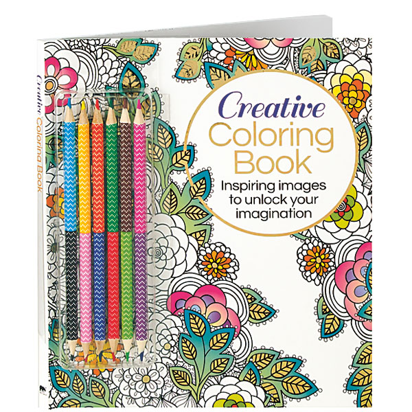 Creative Coloring Book (with Pencils): Inspiring Images to Unlock ...