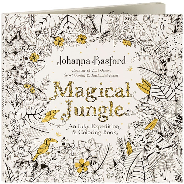 Magical Jungle: An Inky Expedition & Coloring Book at Daedalus Books ...