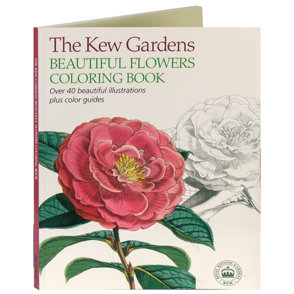 Kew Gardens Beautiful Flower Coloring Book at Daedalus Books | D71196