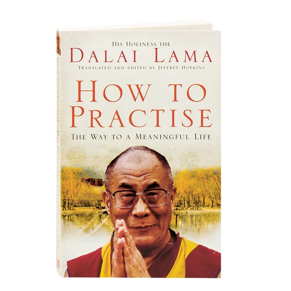 dalai lama how to practice the way to a meaningful life Description as human beings, we all share the desire for happiness and meaning in our lives according to his holiness the dalai lama, the ability to find true fulfillment lies within each of us.