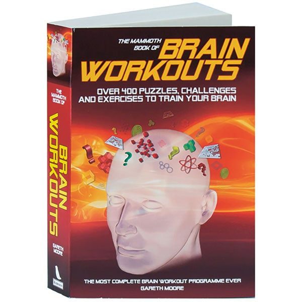 Mammoth Book Of Brain Workouts Over 400 Puzzles, Challenges And Exercises  To Train Your Brain