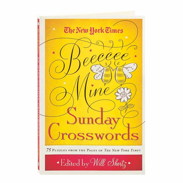 The I New York Times I Be Mine Sunday Crosswords 75 Puzzles From