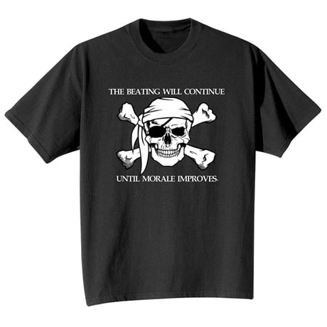 The Beatings Will Continue T-Shirt