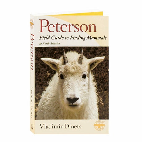 Peterson Field Guide To Finding Mammals In North A