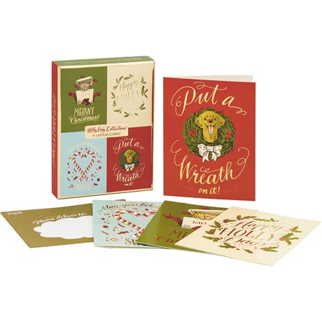 Holly Day Collection Deluxe Holiday Notecards
