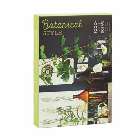 Botanical Style 1000-Piece Jigsaw Puzzle