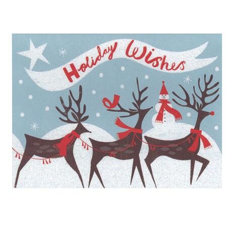 Reindeer Dash Holiday Notecards