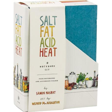 Salt Fat Acid Heat Four Notebook Set