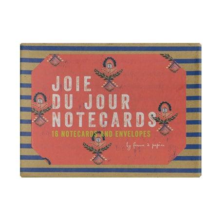 Joie Du Jour Notecards