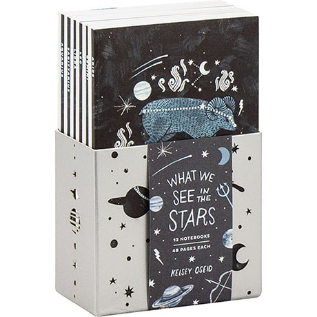 What We See In The Stars: A 12 Notebook Set