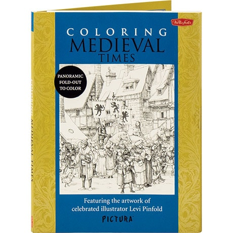 Coloring Medieval Times