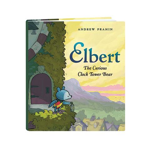 Elbert The Curious Clock Tower Bear