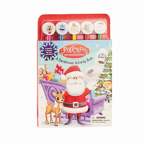 Rudolph The Red-Nosed Reindeer Christmas Activity Book