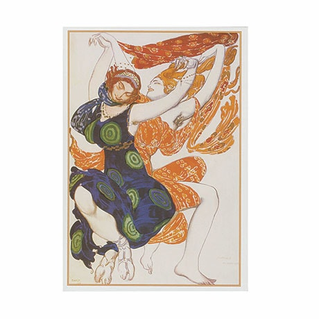 Léon Bakst: Art Of The Ballets Russes Boxed Notecards