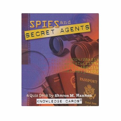 Spies And Secret Agents: A Quiz Deck