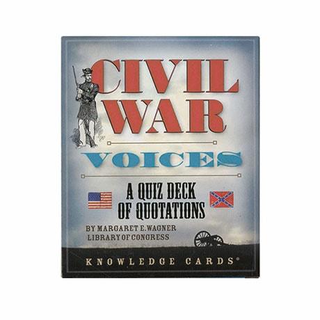 Civil War Voices: A Quiz Deck Of Quotations
