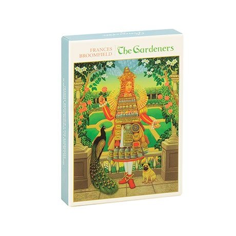 Frances Broomfield: The Gardeners Boxed Notecards