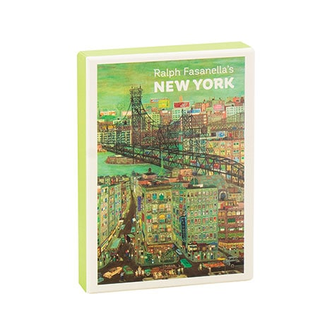 Ralph Fasanella's New York Boxed Notecards