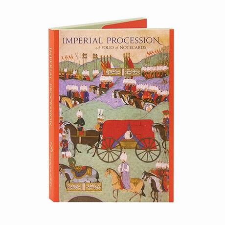 Imperial Procession Notecard Folio