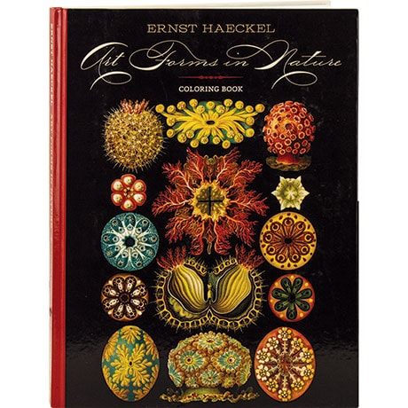 Art Forms In Nature Coloring Book