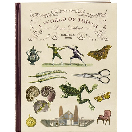 A World Of Things: Denis Diderot Coloring Book
