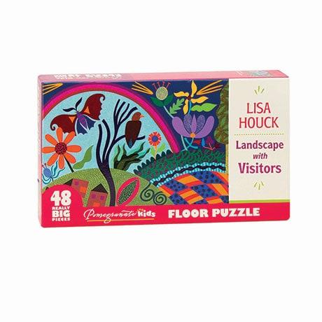 Landscape With Visitors Floor Puzzle