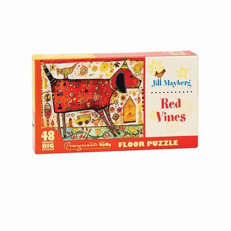 Red Vines Floor Puzzle