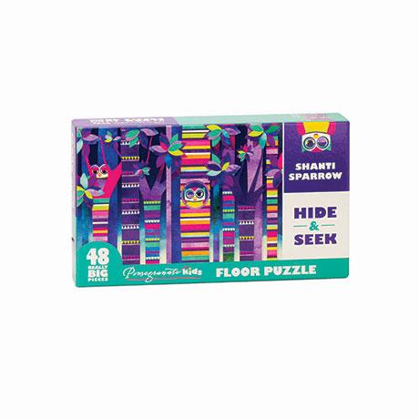 Hide & Seek Floor Puzzle