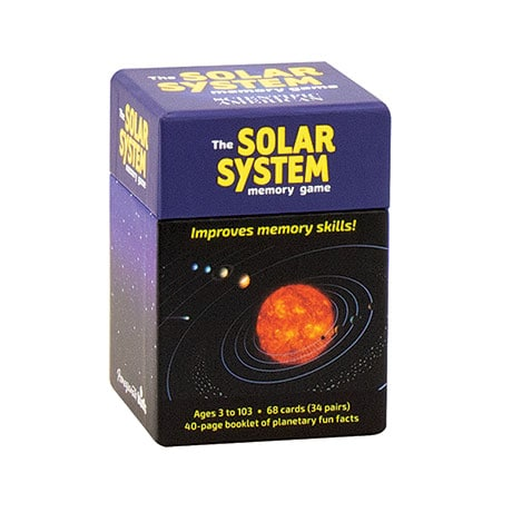 The Solar System Memory Game