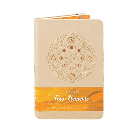 The Four Elements Ruled Journal