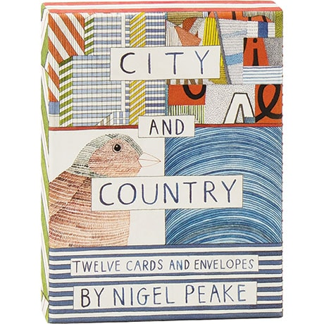 City And Country Notecards