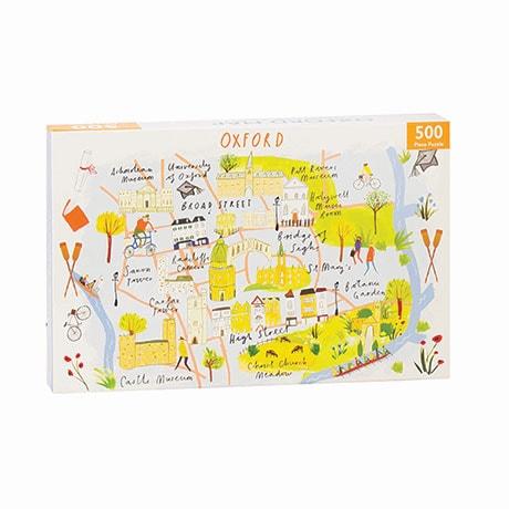 Oxford Map 500 Piece Jigsaw Puzzle