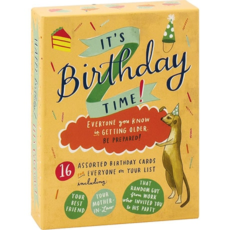 It's Birthday Time! Notecards