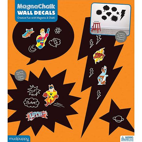 Superhero Magnachalk Wall Decals