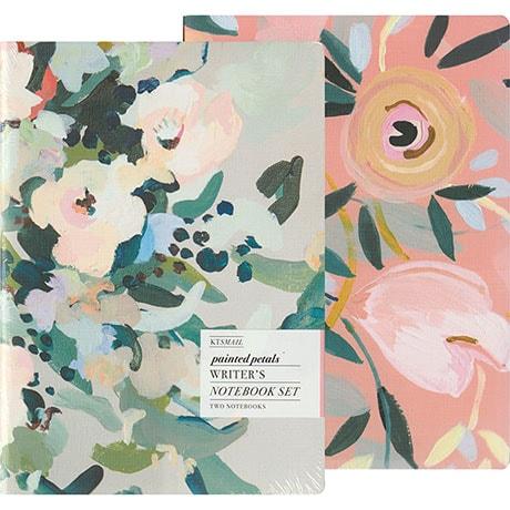 Painted Petals: Writer's Notebook Set