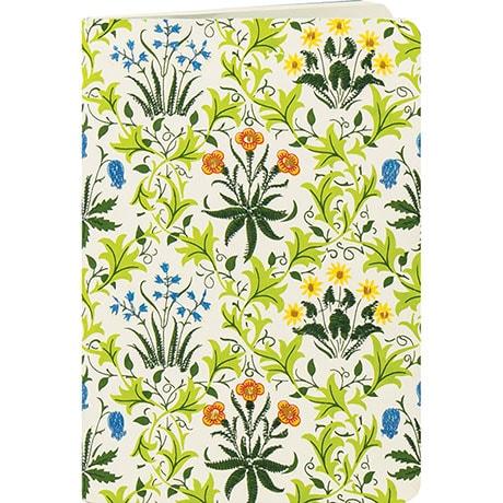 William Morris: Celandine Handmade Embroidered Journal