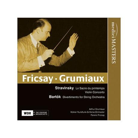 Ferenc Fricsay Conducts Stravinsky & Bartók