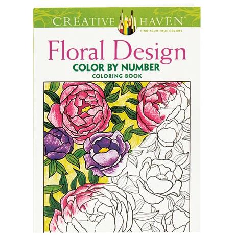 Floral Design Color by Number