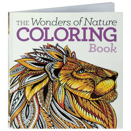 The Wonders of Nature Coloring Book