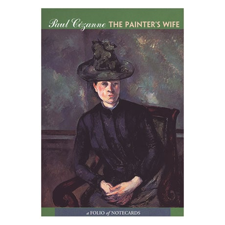 Paul Cézanne The Painter's Wife Notecard Folio