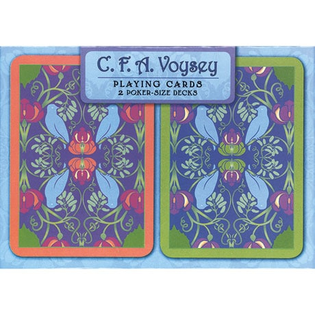 C.F.A. Voysey Playing Cards