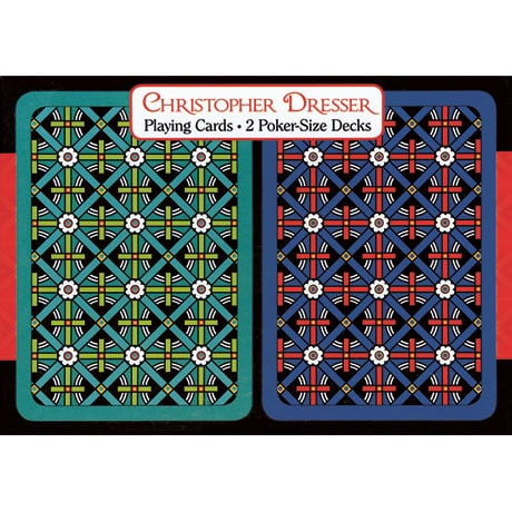Christopher Dresser Playing Cards