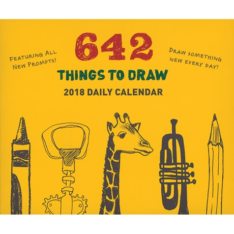 642 Things To Draw Daily 2018 Calendar