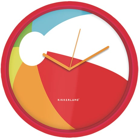Beach Ball Clock