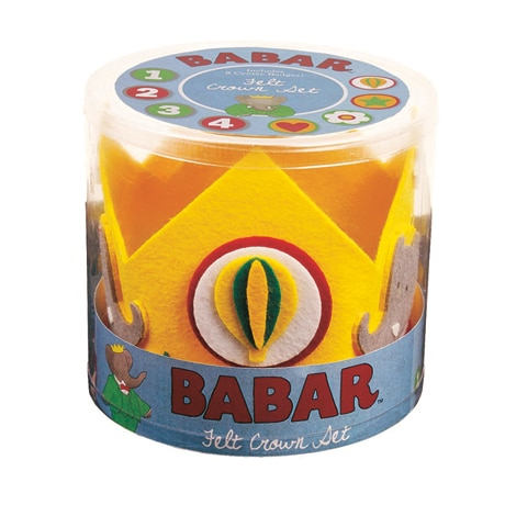 Babar Felt Crown Set