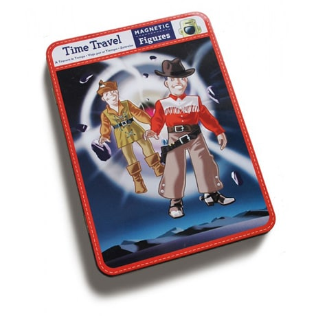 Time Travel Magnetic Figures