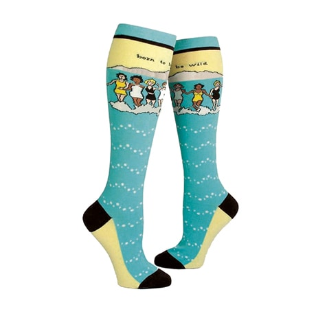 Born to Be Wild Knee Socks