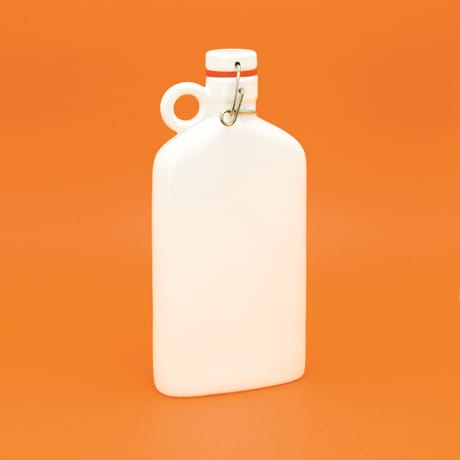 Large Brooklyn Flask