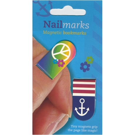 Nailmarks Magnetic Bookmarks